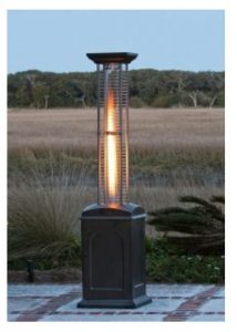 Square Flame outdoor Gas heater in dubai