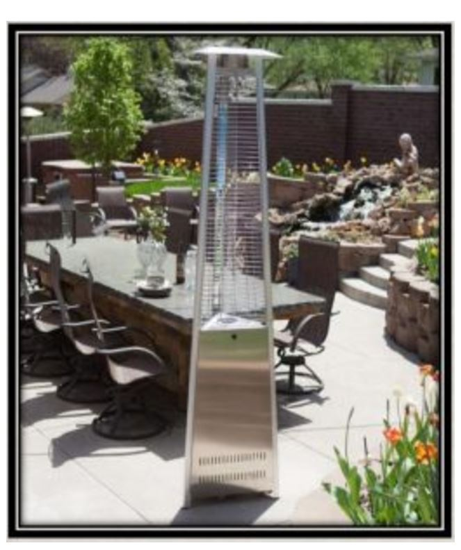 Triangle Pyramid Patio Heater
